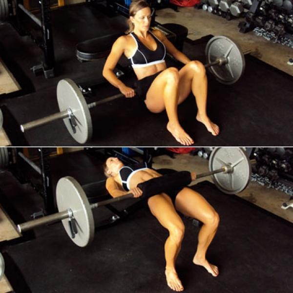 Barbell hip thrust vs glute bridge