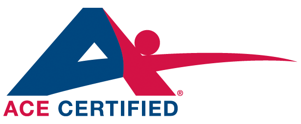 ace fitness certified training personal certification trainer celebrate exercise trainers logos council brian nasm ageless king american piloxing gym built