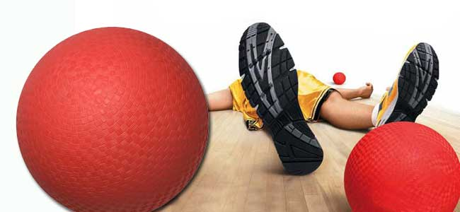 dodgeball for kids at Ageless