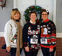 Ugly Christmas Sweater Bootcamp Friday at 6:30pm