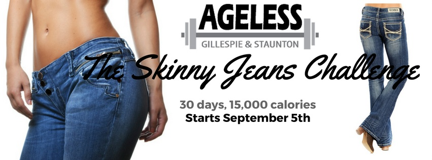 The Skinny Jeans Challenge at Ageless
