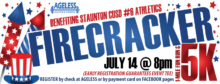 FIRECRACKER 5K and 1-mile for Staunton CUSD #6 Athletics on July 14