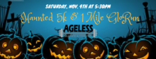 2017 Haunted GloRun at Ageless in Gillespie