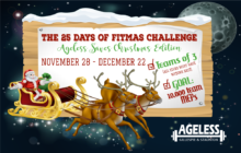 It's an Ageless Fitmas… New challenge starts Nov. 28th.